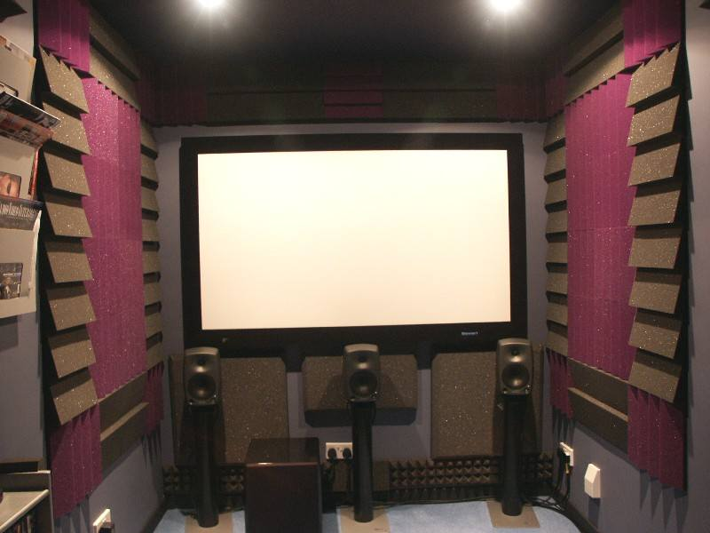 Jeff 39 s dark room avs forum home theater discussions for 9x11 room design
